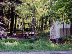 Round Lake State Forest Campground