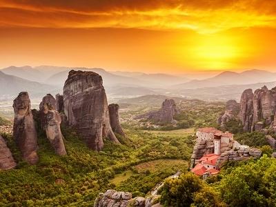 Roussanou Monastery @ Meteora
