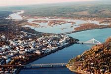 Rovaniemi From Air