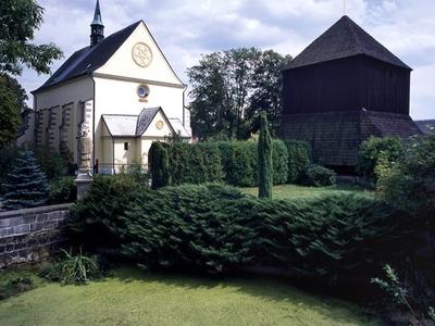 Rovensko Pod Troskami-Church Frontview