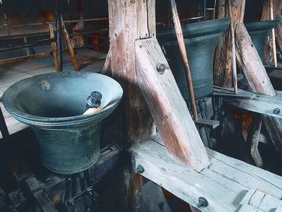 Rovensko Pod Troskami-Wooden Belfry