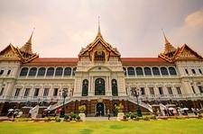 Royal Palace Front View - Thailand Bangkok