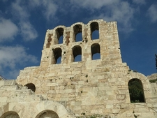 Ruins In Athens Acropolis