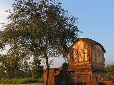 Ruins Of Kachari Kingdom