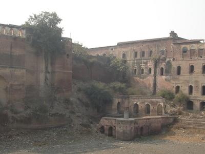 Ruins Of  Kaithal Fortress Haryana