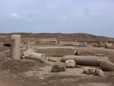 The Ruins Of Tanis Today.