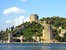 Rumelihisarı As Seen From The Bosphorus Strait