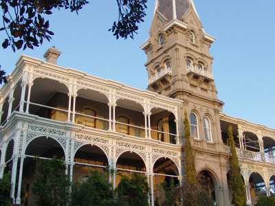 The Front Of The Rupertswood Mansion