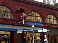 Russell Square Tube Station