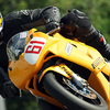 A Motorcycle Races At Mosport