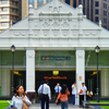 Exterior View Of Raffles Place MRT Station