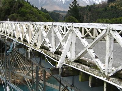 Rakaia Gorge Bridge Gobeirne