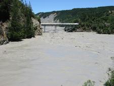 Rakaia Gorge Flood