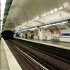 Line 11 Platforms At Rambuteau