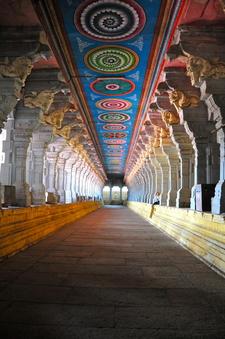 Rameswaram Temple Corridor