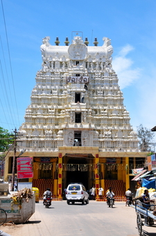 Rameswaram Temple Tower