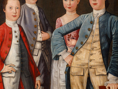 The Rapalje Children Collection Of NewYork Society