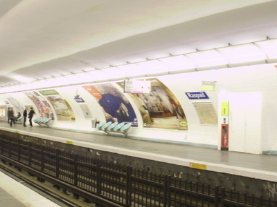 Line 4 Platforms At Raspail