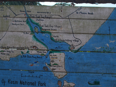 Map Of Ream National Park