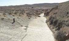 Red Gulch Dinosaur Tracksite Overlook