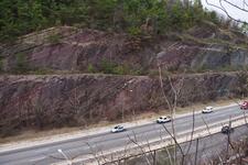 Red Mountain Expressway Cut