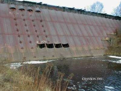Redridge Steel Dam
