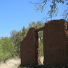 Remains Of An Adobe Building In Harshaw