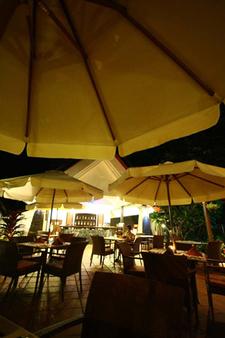 Restaurant View At Night