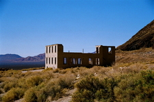 The Remains Of Rhyolite's School Building
