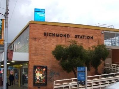 Richmond Station Entrance