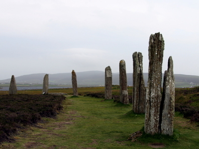 Ring Of  Brodgar In Summer