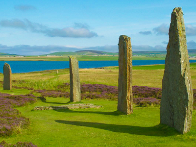 Ring Of  Brodgar In  Orkney