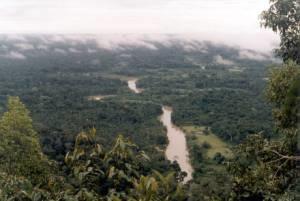 Moa River In Serra Do Divisor National Park