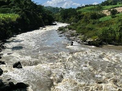 Rio Suarez In Boyacá
