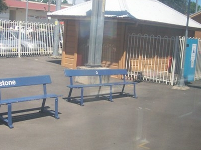 Riversone Railway Station Seating
