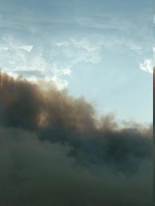 Rising Smoke Three Buttes