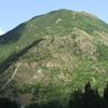 Roca De La Feixa Mountain Seen From Barruera