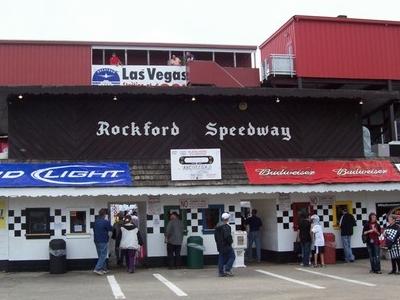 Rockford Speedway Ticket Booth