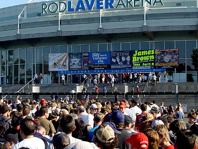 Rod Laver Arena Exterior