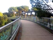 Massimo DAlessandros Curving Bridge