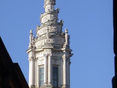Roma Sant Ivo Sapienza Cupola