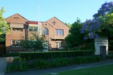 Roseville College Front Entrance