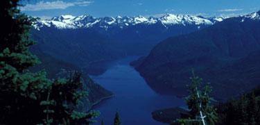 Ross Lake From Desolation Peak