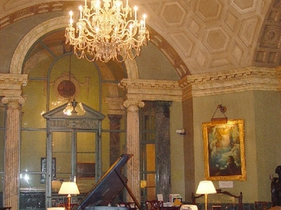 Rotunda Interior Steinway Hall