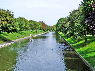 The Royal Military Canal At Hythe