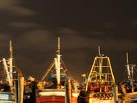 Royapuram puerto pesquero