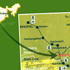 Route Map Pench