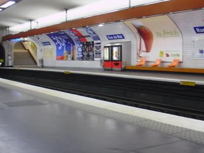 Line 12 Platforms At Rue Du Bac
