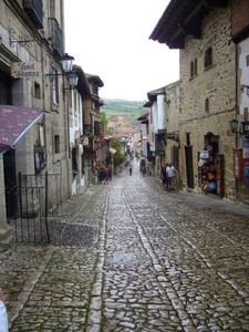 Streets In Santillana Del Mar