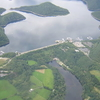 Aerial Shot Of The Rur Dam